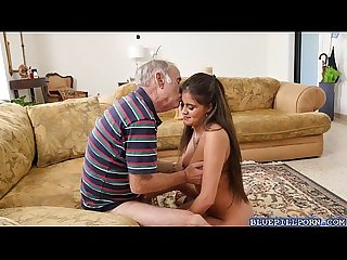 Gorgeous jealena marie enjoys fucking with old men