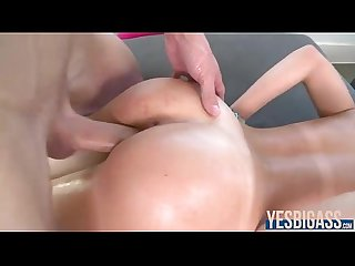 Perfect tits and ass hottie dillion harper fucked big time