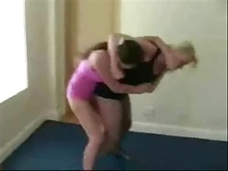 Russian catfight girlfight indoor wrestling sexfight 001