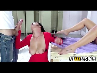 2 babes fucked in the locker room 2 3