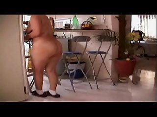 Chubby bigbutt nude home working- 27-hw
