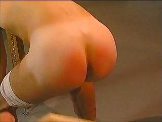 Blindfolded dude messy blowjob and ass pounding