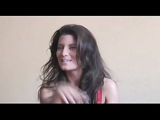 Amazing brunette amandine photoshoot
