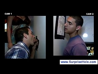 Straight boy sucked by his gay neighbour