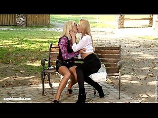 Park Passion by Sapphic Erotica - sensual lesbian sex scene with Claudia and Sun