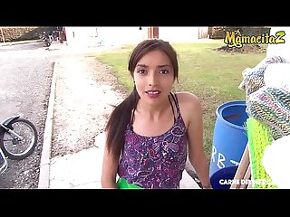 MAMACITAZ - Perfect Latina Teen Veronica Marin It's Getting Fucked During Her Lunch Break