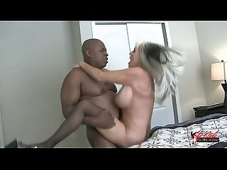 Mandingo addicted Sally D angelo blacked