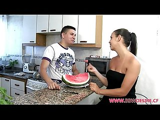 Horny Chubby Beauty Laura Sucks Off Lucky Guy and Gets Fucked Hard