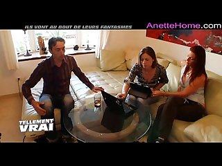 couple amateur a 3 en webcam direct pour les voyeur francais