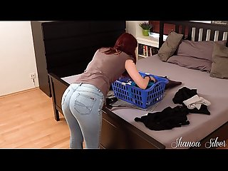 LITTLE STEP SIS GETS USED LIKE A SLUT WHEN MOM IS NOT AT HOME