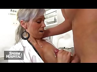 Sperm donation Hospital feat busty lady doctor danielle