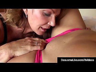 Strapon cougar deauxma pussy pounds younger busty dolly fox