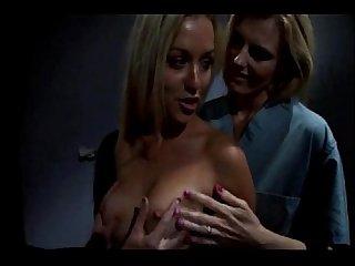 Lesbians in prison scene