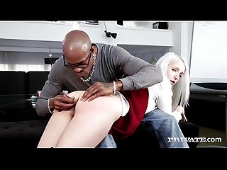 Naughty school girl liz rainbow gets some interracial ass play