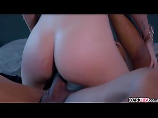 Skinny Blonde Lyra Law Takes A BBC Pounding
