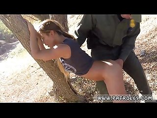Xxx pawn latina police Border Jumper Puts Out Big Time!