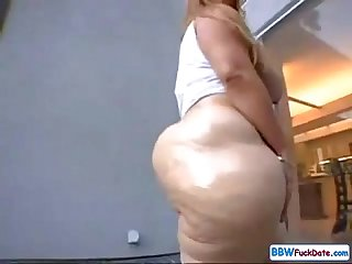 Huge Ass Caucasian Teen