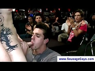 Partyboys adore strippers sausage