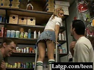 Taw the little slut at the pet store clip0