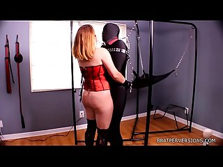 Bdsm edging session