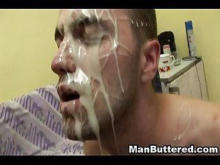 Gay Hardcore Anal Sex and Facial Cum