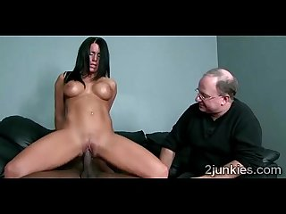 Busty brunette milf mounts black thug as her man watches heruckold 9761 01 big 1