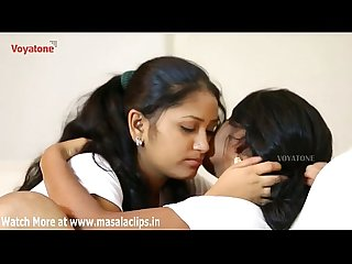 Two girls hot lesbian romance in room video