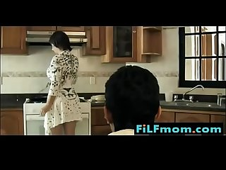 Stepmom seduced in the kitchen by son free full family sex videos at filfmom com