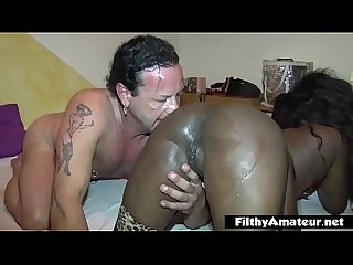 Incredible black asses! Nasty squirting pussy!