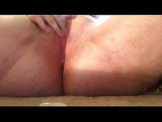 Anal and pussy penetration with squirting and fisting