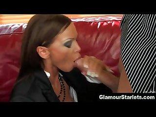 Clothed glamour slut fuck cumshot