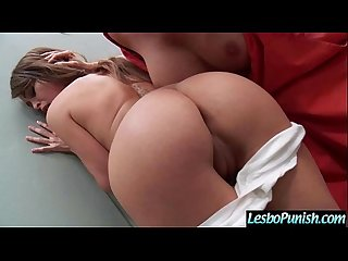 Sexy Girl Get Sex Dildo Punish By Mean Lesbian video-29