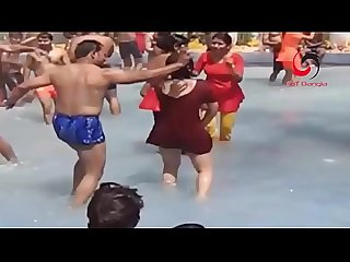 www.desichoti.tk Presents Recording Hot Dance at open water world ।। Desi Indian