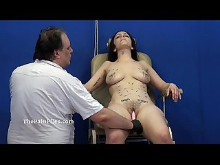 Extreme needle tortures and merciless punishment of amateur slavegirl