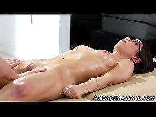 Lesbian masseuse squirts
