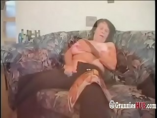 Hot gilfs and grannies masturbate and fuck compilation