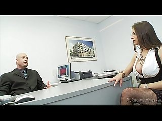 Rachel roxx fucked on desk