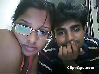 Desi cam lovers enjoying oral sex on webcam for friends part 2