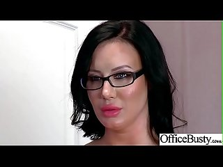 Slut girl lpar sybil stallone rpar with round huge tits get nailed in Office vid 28