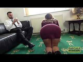 British sub milf gets her dripping wet holes destroyed