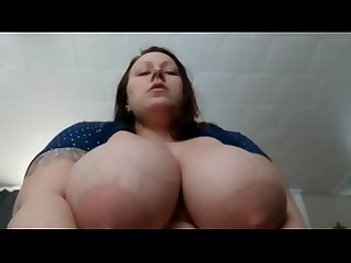BBW riding hard dick