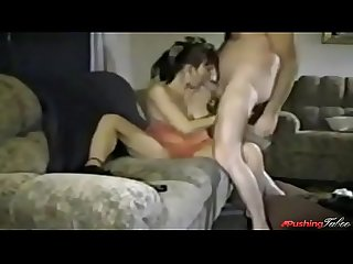 Real mommy fucks stepson hardcore