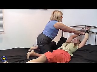 British lesbian housewives fooling around