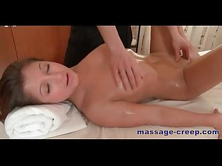 A massage video Quickly escalates into Xxx
