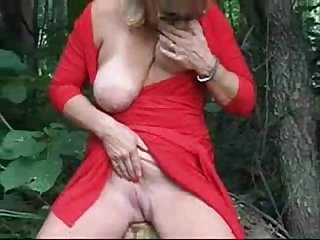 Exhibition of gorgeous Mature bitch Outdoor period Amateur older