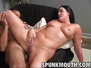 Holly interracial blowjob fuck