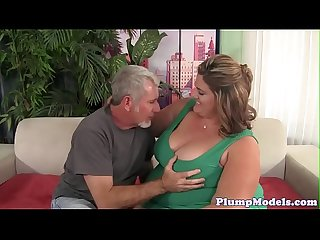 Deepthroating ssbbw gets doggystyled