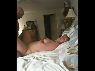Giving wifey an orgasm