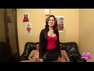 Laura cruz loves cocks so much that she makes a double penetration in her debut