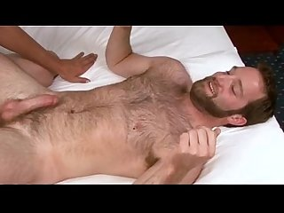 Hairy Chest is fucked by a stud